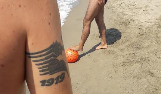 salernitana tatuaggio