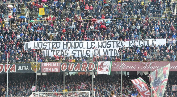 striscione ultras