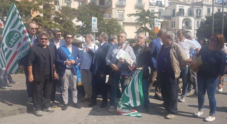 provincia salerno protesta