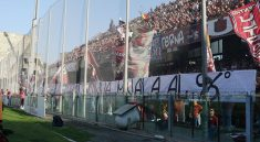 striscione salernitana minala