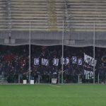 striscione Salernitana-Foggia