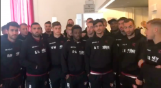 salernitana video tifosi incidente