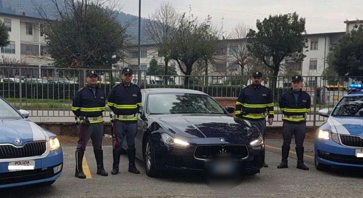 polizia stradale maserati firenze
